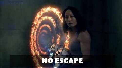Portal No Escape - No Escape est un impressionnant film d'action futuriste de Dan Trachtenberg inspiré du jeu vidéo Portal 2.  || Libreplay, 1re plateforme de référencement et streaming légales