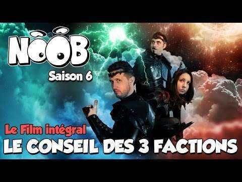 Noob - Le conseil des 3 factions || Libreplay, 1re plateforme de référencement et streaming de films et séries libre de droits et indépendants.