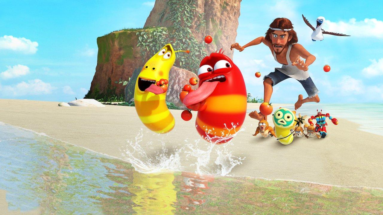 Larva - Les aventures de Rouge et Jaune, fou rire assuré ! || Libreplay, 1re plateforme de référencement et streaming légales